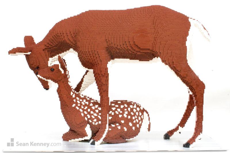 lego animal sculptures by sean kenney (5)