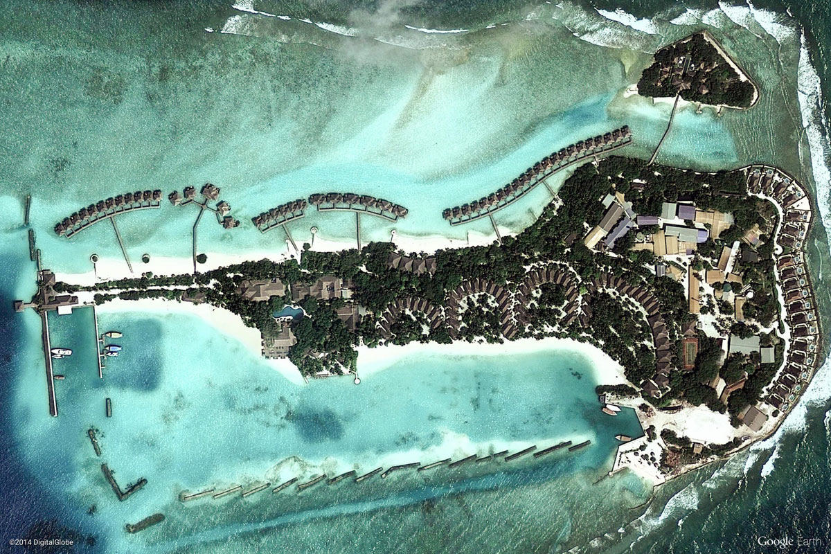 male maldives Earth View: A Curated Collection of 1500 Google Earth Wallpapers