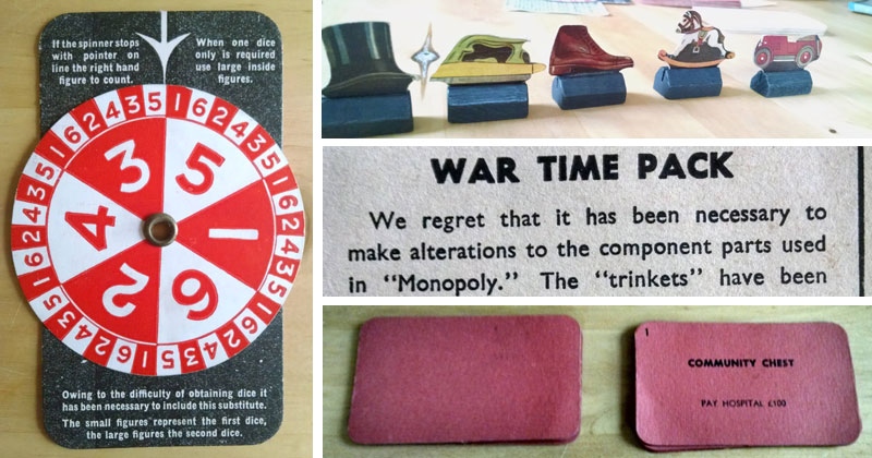 During WWII, Monopoly Made a Wartime Version Due to