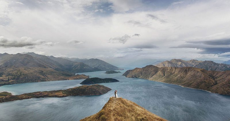 23 Wedding Portraits in Unforgettable Landscapes Around the World