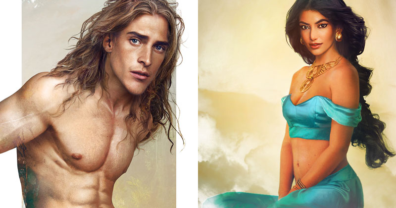 Artist Imagines What Real-Life Disney Characters Would LookLike
