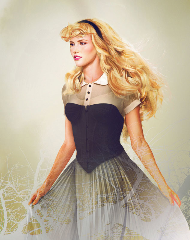 Artist Imagines What Real Life Disney Characters Would Look Like