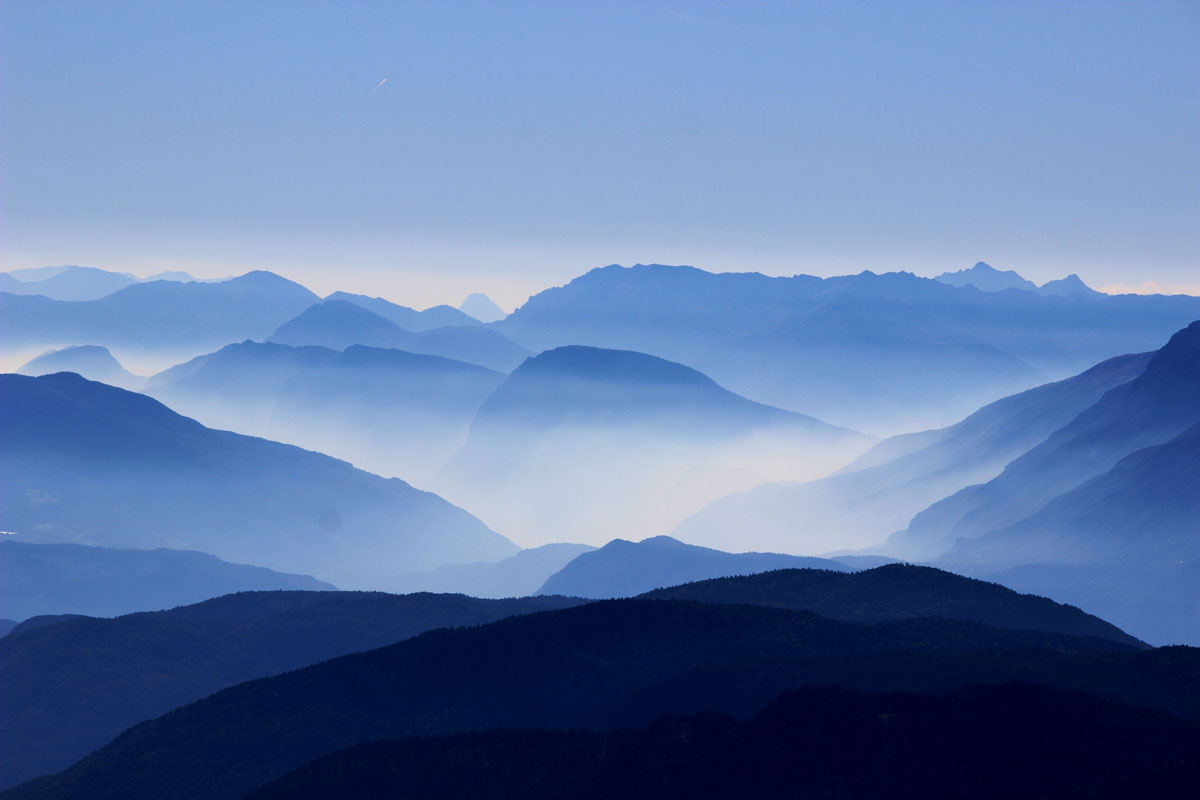 shade of mountain blue by luca zanon Picture of the Day: Shades of (Mountain) Blue