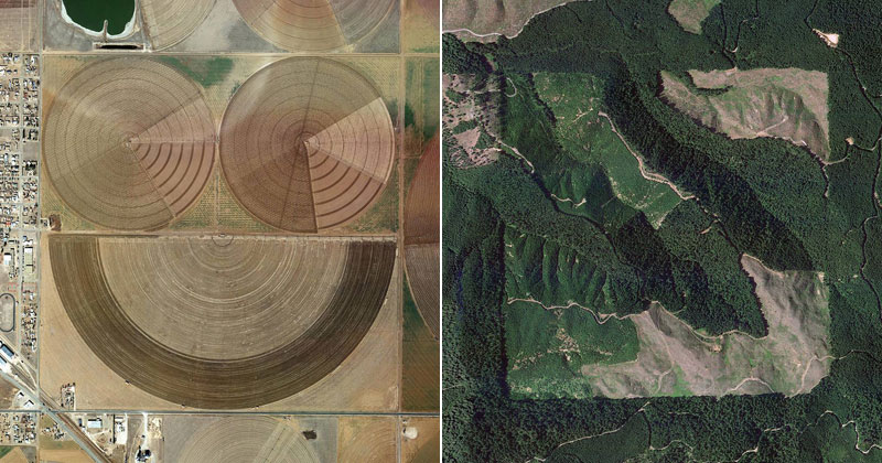 The Jefferson Grid Shows One Square Mile of Land from Above (15 Photos)