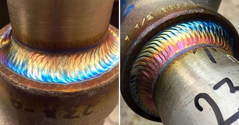 This Guy's Welds Are A Work of Art (12 photos)