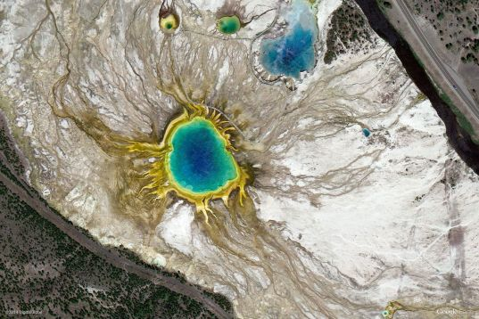 yellowstone national park united states Earth View: A Curated Collection of 1500 Google Earth Wallpapers