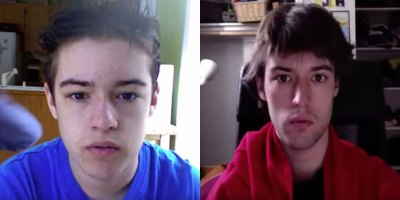 Guy Takes Selfie Every Day for 8 Years from Age 12 –20