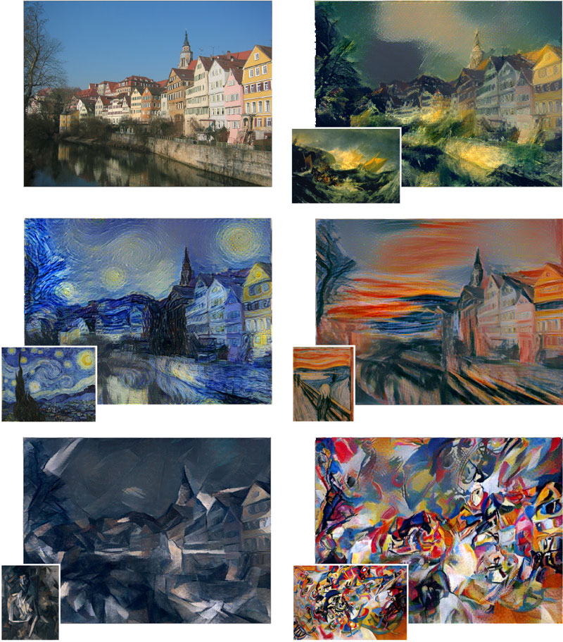 Algorithm Turns Your Photos Into the Style of a Famous Painting (1)
