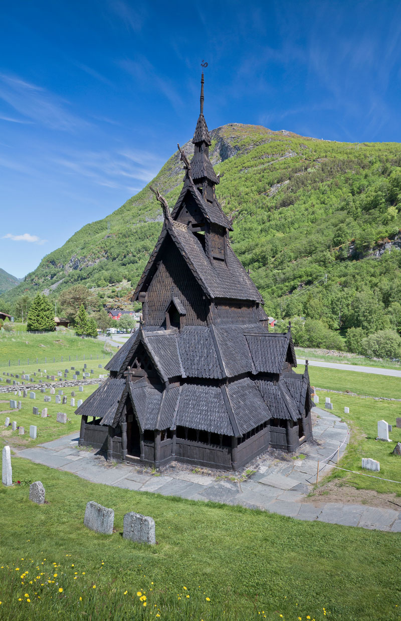 This Triple Nave Stave Chuch in Borgund, Norway Looks Awesome ...