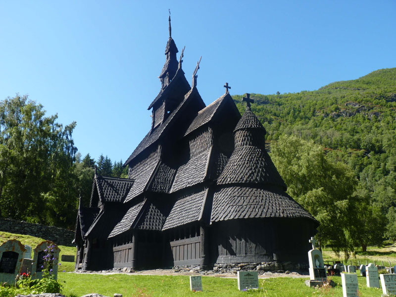 Borgund Stave Church Norway (2)