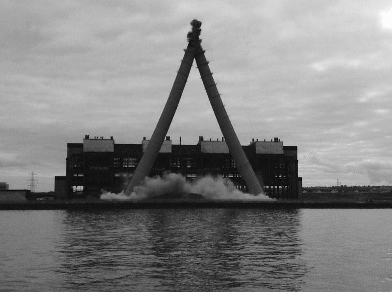 Cockenzie Power Station Demolition Scottish power 2015 (3)
