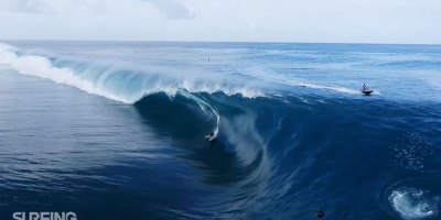 Drones and Surfing Go Together Like Peanut Butter andJam