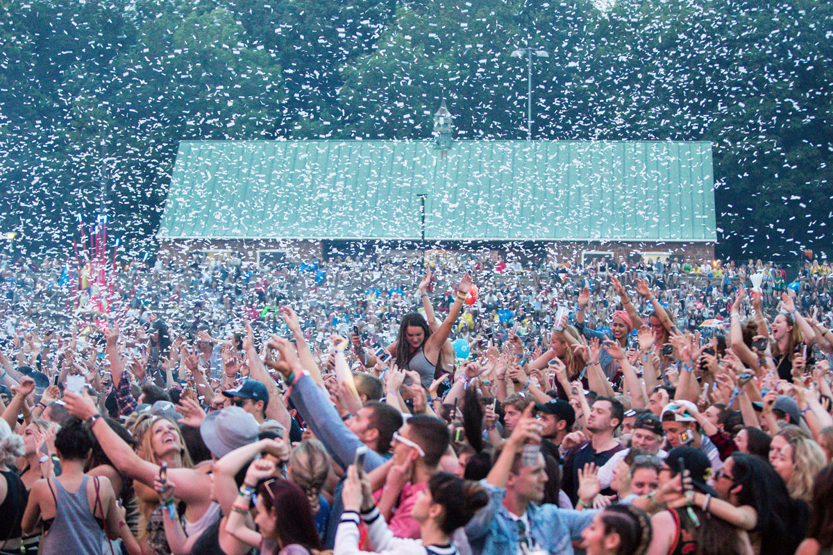 Installations at Osheaga Music and Arts Festival 2015