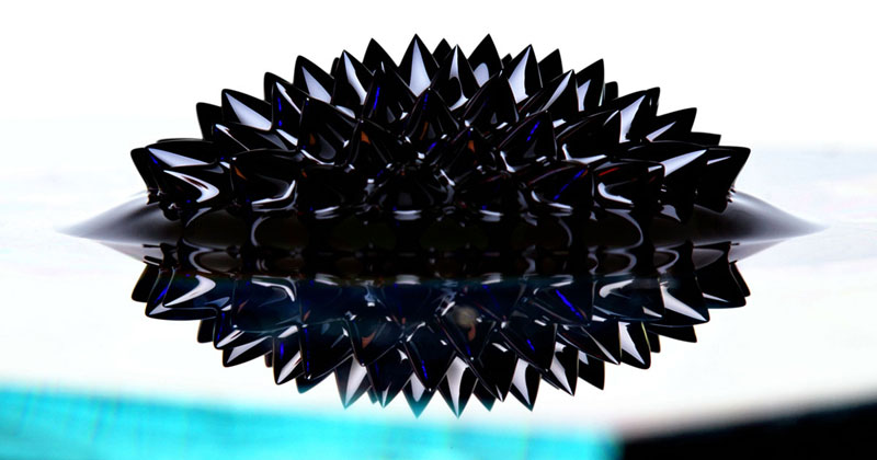 Picture of the Day: Ferrofluid UpClose