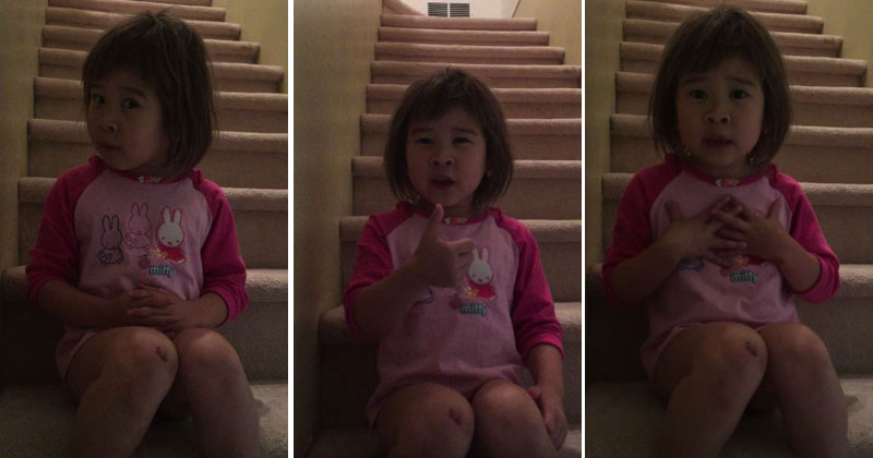 6-Year-Old Girl's Heartfelt Talk With Her Mom About Divorce Goes Viral