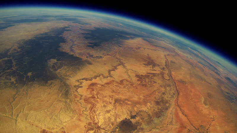 A Hiker Found a 2-Year-Old GoPro that was Launched Into Space and the Footage is Awesome