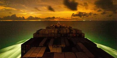 Incredible Timelapse Shows Container Ship's Journey from Vietnam toChina
