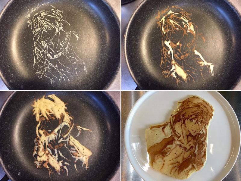 japanese restaurant la recetta pancake art (10)