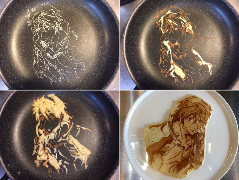 Theres a restaurant in japan that makes amazing pancake art japanese restaurant la recetta pancake art 10 ccuart Choice Image