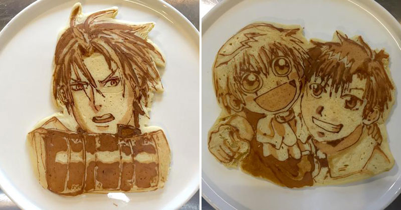 Theres a restaurant in japan that makes amazing pancake art theres a restaurant in japan that makes amazing pancake art twistedsifter ccuart Gallery
