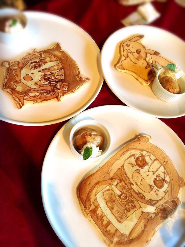 japanese restaurant la recetta pancake art (3)