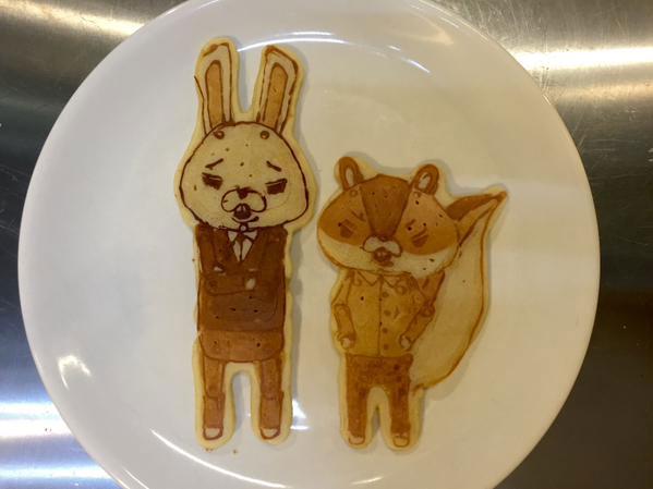 japanese restaurant la recetta pancake art (5)