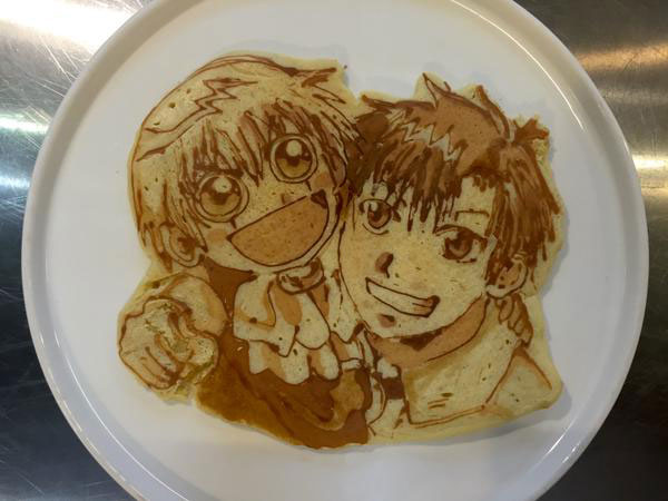 japanese restaurant la recetta pancake art (6)
