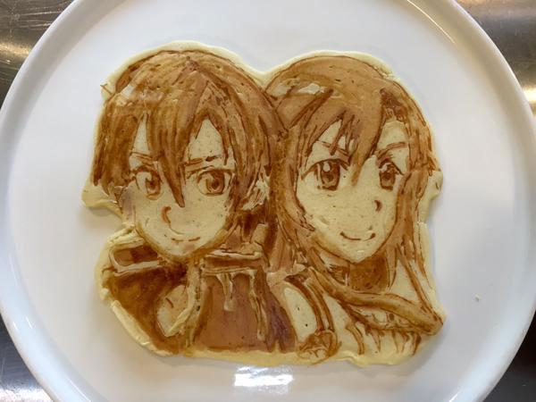 japanese restaurant la recetta pancake art (9)