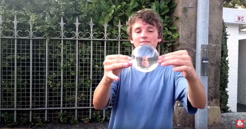 This Contact Juggling Street Performance is a Pleasure toWatch