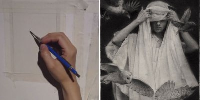 Graphite Drawing Comes to Life in Amazing Timelapse by KarlaOrtiz