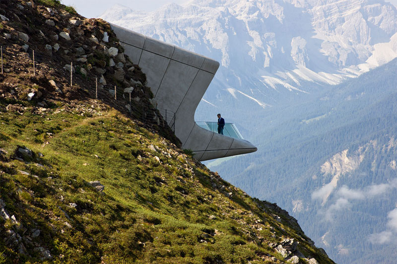 Picture of the Day: A Mountain Museum at the Top of an Actual Mountain