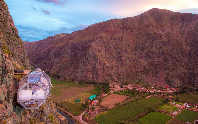 In Peru You Can Sleep Like a Condor, in a Floating Nest 1200 ftHigh