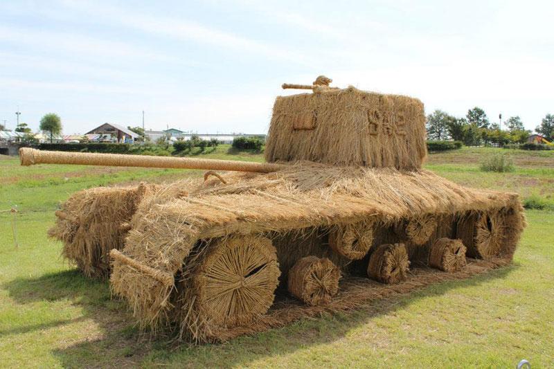straw art festival niigata city japan (12)