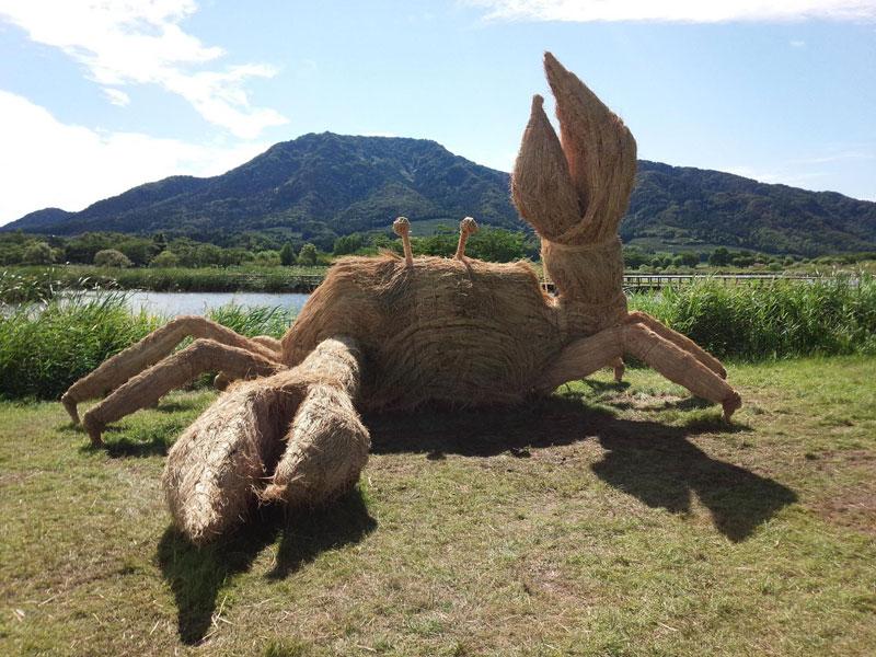 straw art festival niigata city japan (16)