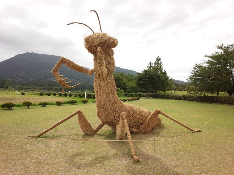 straw art festival niigata city japan (18)
