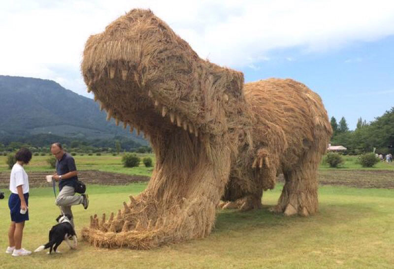 There's an Annual Straw Art Festival in Japan and it LooksAwesome
