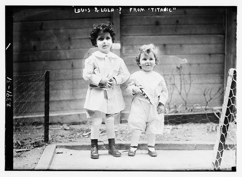 titanic orphans survivors michel and edmond navratil (1)