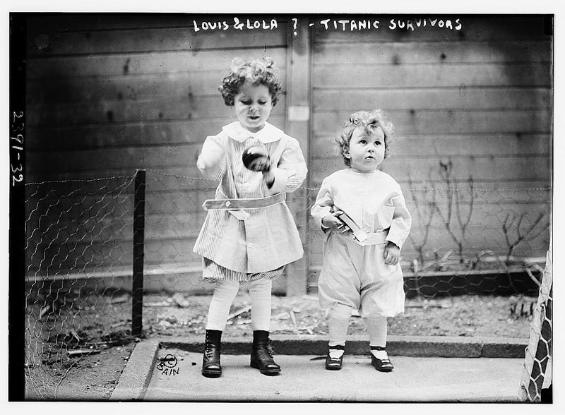 titanic orphans survivors michel and edmond navratil (2)