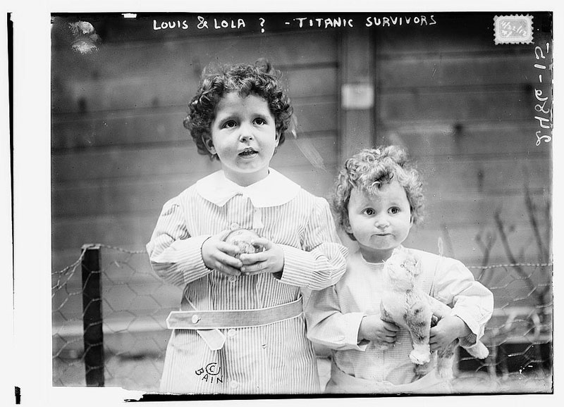 titanic orphans survivors michel and edmond navratil (3)
