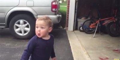 Automatic Garage Door Blows Toddler'sMind