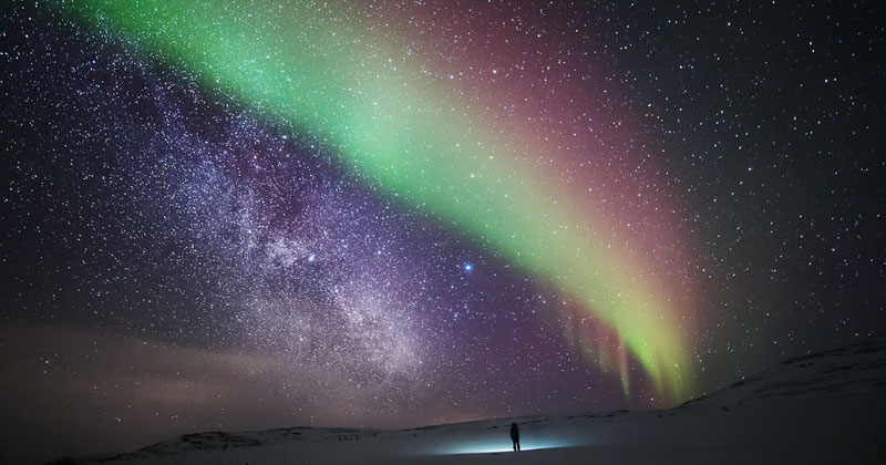 Breathtaking Self Portraits of a Lone Wanderer in theArctic