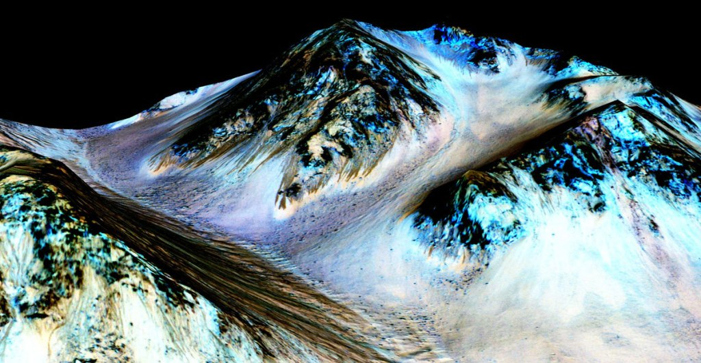 Picture of the Day: Water on Mars