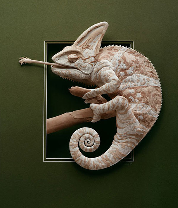 These Amazing Animal Sculptures Were Made From Carefully