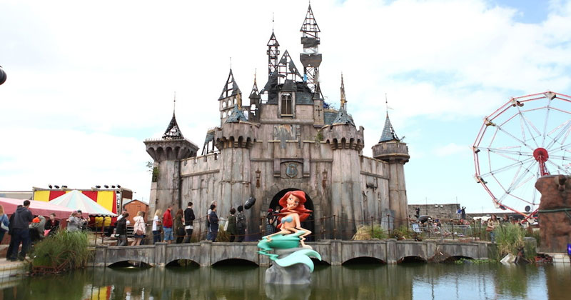 In Case You Missed It: A Video Tour of Banksy'sDismaland