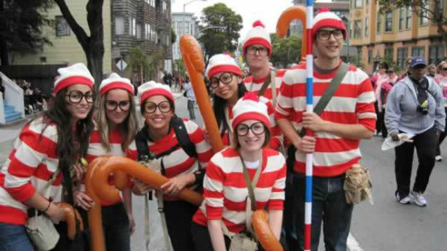 cheap easy diy group costumes for halloween (11)  sc 1 st  TwistedSifter & 24 Cheap and Easy DIY Group Costumes for Halloween «TwistedSifter