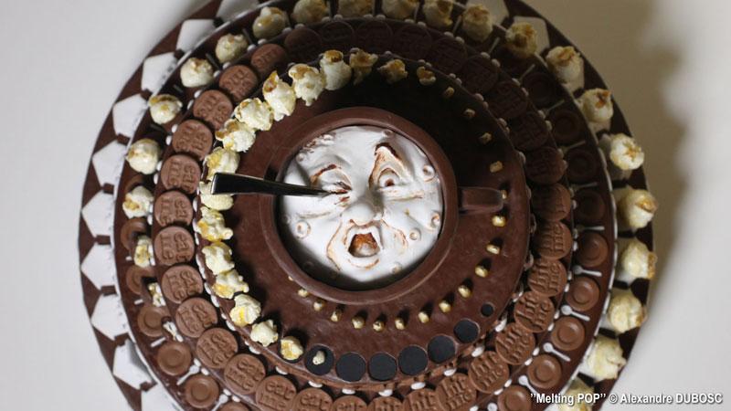 Alexandre Dubosc's Chocolate Cake Zoetrope isAwesome