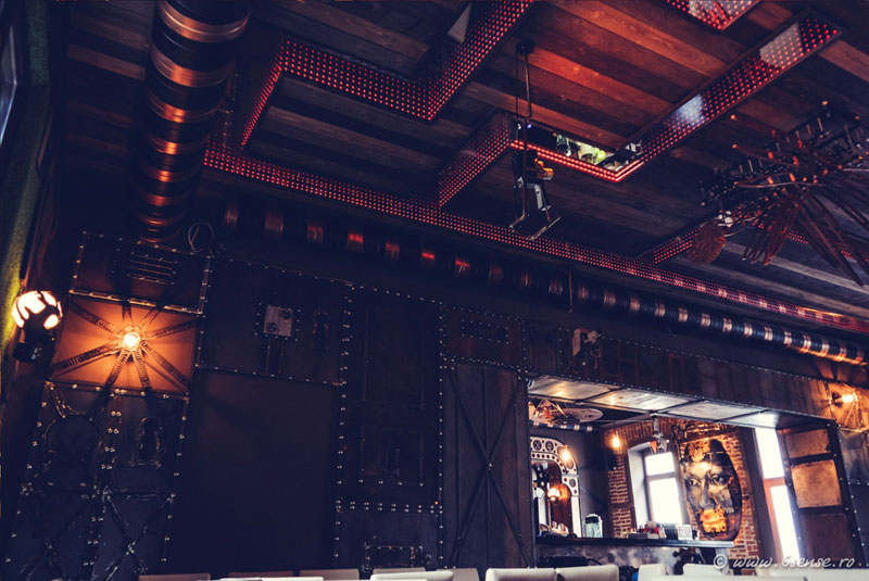 This Steampunk Bar In Romania Is Filled With Kinetic