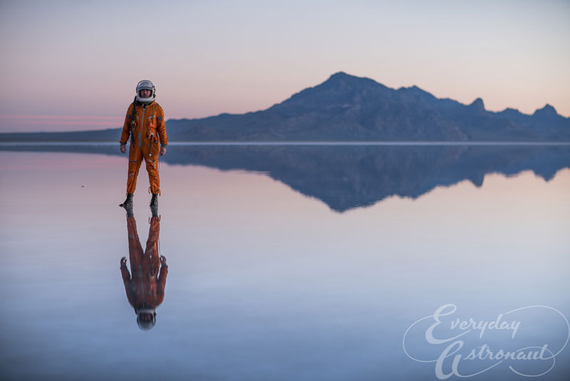 The Everyday Astronaut Visits A Flooded Bonneville Salt Flats ...