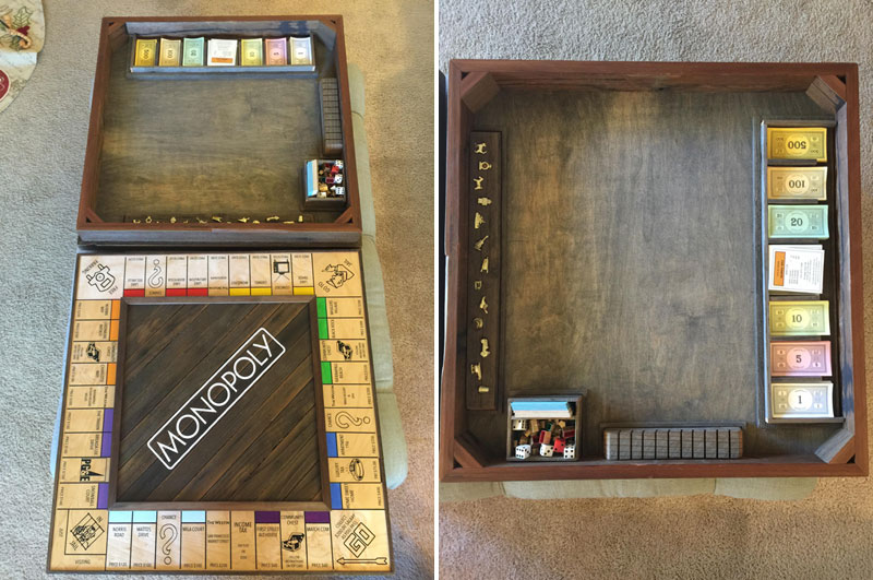 Guy Proposes With Romantic Custom Monopoly Board (17)