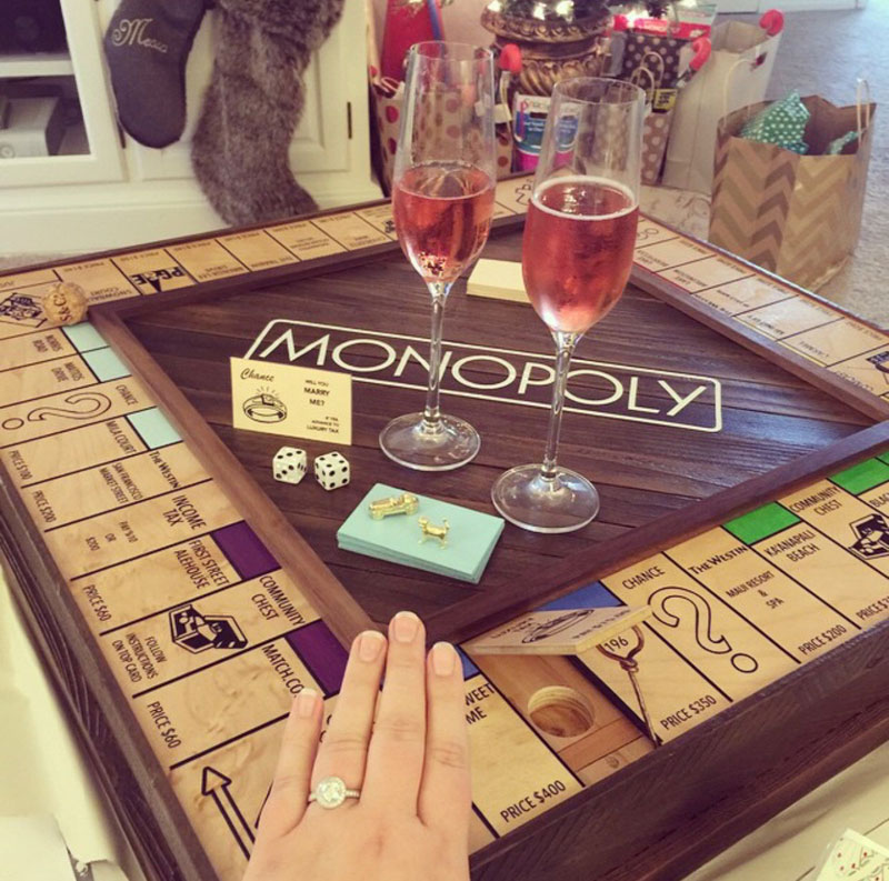Guy Proposes With Romantic Custom Monopoly Board (23)